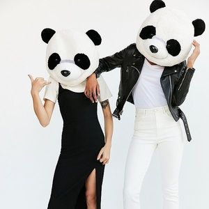 Urban Outfitters Panda Head Halloween Costume